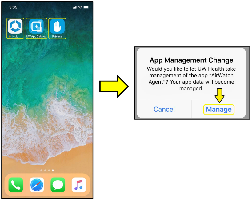 Adding Mobile Device Management to an iPhone